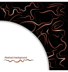 Abstract background of wavy lines vector image vector image