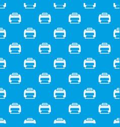 modern laser printer pattern seamless blue vector image