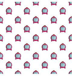 Princess mirror pattern seamless vector