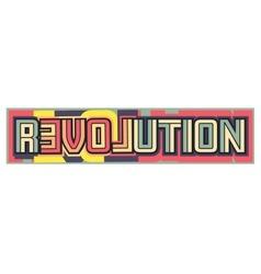 Love revolution vector