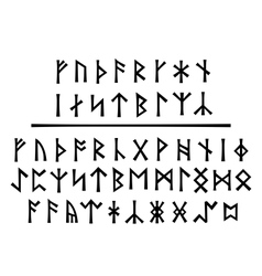 Younger runes and the northumbrian order vector