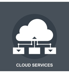 Cloud Services vector image