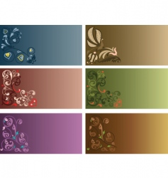 Decor background vector