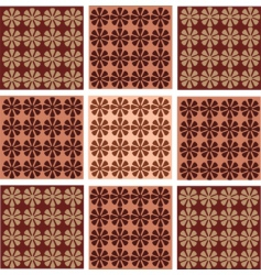 Vintage floral patterns vector