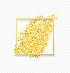 Gold gold placer metal gold yellow gold vector