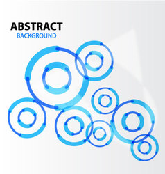 Abstract background Blue hitech vector image vector image