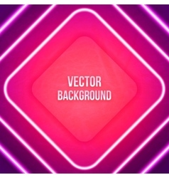 Abstract geometric background glowing vector