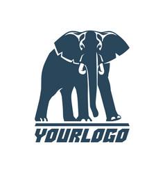 Elephants logo sign pictogram-07 vector