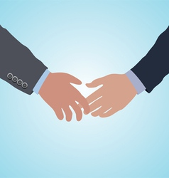handshake agreement vector image