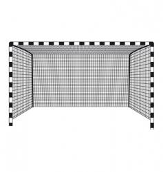 Soccer gates vector
