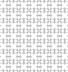 Seamless pattern of delicate grey lines on white vector