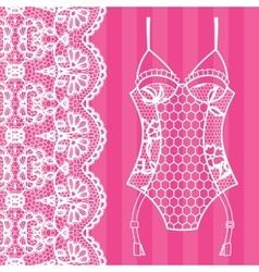 Body lingerie vector