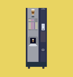 Coffee machine vector