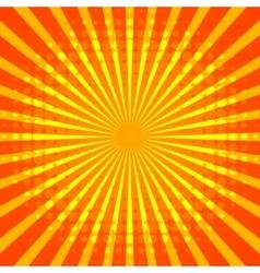 Retro halftone background vector image vector image