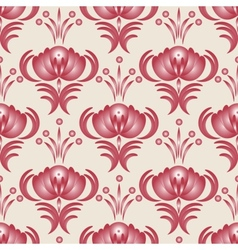 Seamless pink vector image vector image