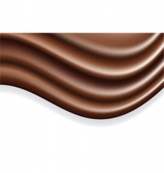 chocolate wave vector image