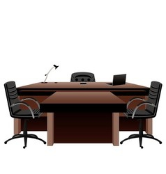 Directors office vector image