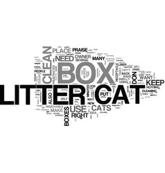 At last cat litter boxes don t have to be evil vector