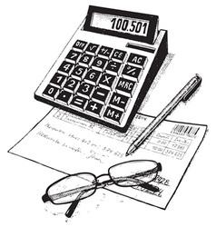 Bookkeeper vector
