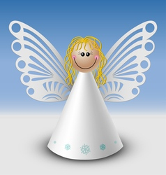 Cute angel vector image