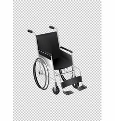 Wheelchair on transparent background vector