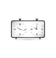 Chess clock vector image vector image