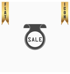 Bookmark with Sale message vector image