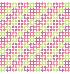 Seamless bright abstract rhombus pattern vector