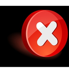 Cancel Icon vector image