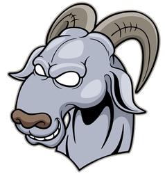 Head goat vector