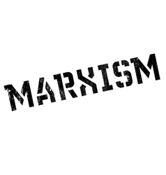Marxism rubber stamp vector
