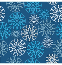 Floral pattern cute background vector