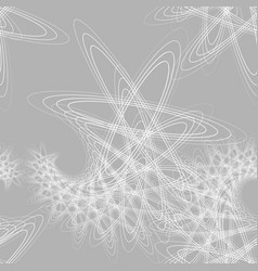 gray and white seamless pattern vector image vector image