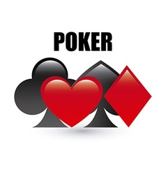 poker game vector image vector image