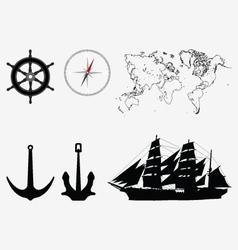 seamanship vector image vector image