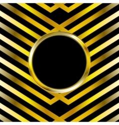 Technology golden design vector image vector image