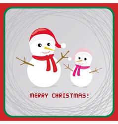 Christmas greeting card17 vector image