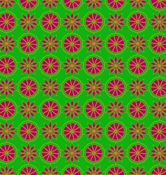 Red and yellow pattern vector
