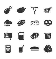Grocery store icon vector