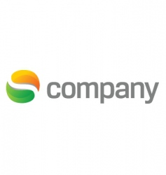 abstract blog logo vector image vector image