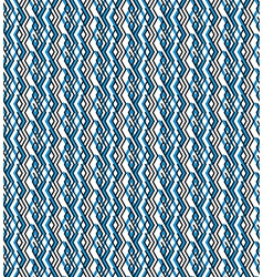 Bright rhythmic textured endless pattern stripy vector image vector image