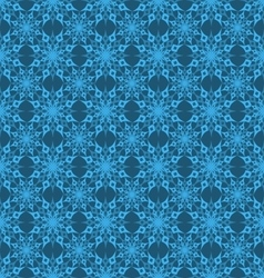Seamless background snowflakes 1 vector