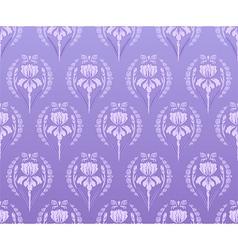 Seamless walpaper iris background vector