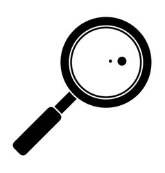search loupe school pictogram vector image vector image