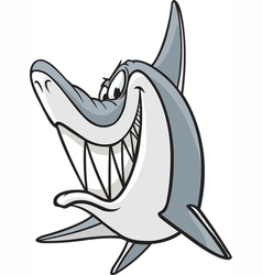 Sneaky Shark vector image