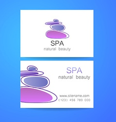 Spa natural beauty vector