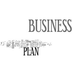 Why a business plan is so important for your vector