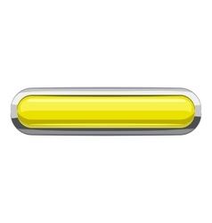 Citron rectangular button icon cartoon style vector