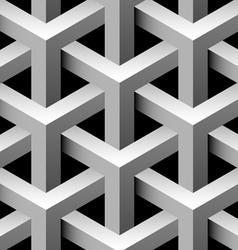 3d industrial seamless pattern vector