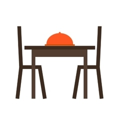 Dining table i vector